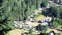 Camping La Cascade de Venosc-vue d'en haut