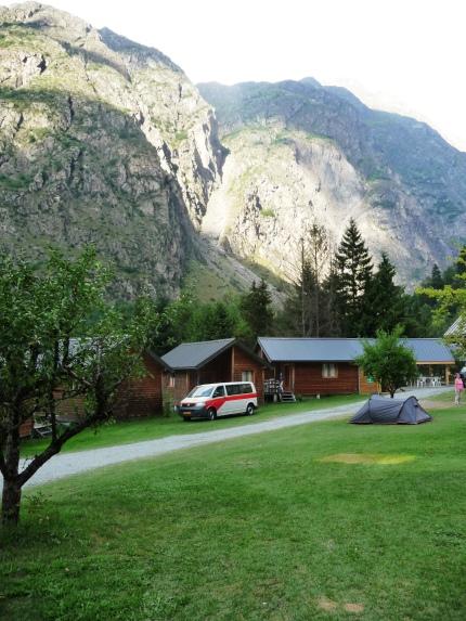 les chalets du Camping La Cascade de Venosc