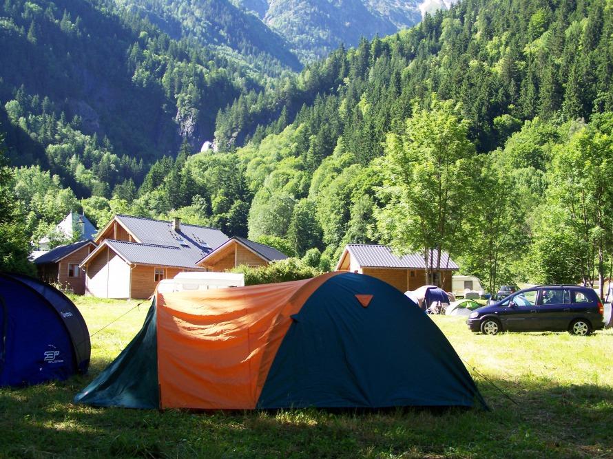 Le Camping La Cascade de Venosc